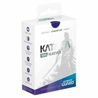 Ultimate Guard Katana Card Sleeves - Blue - 100 Count - 66x91mm Standard Size