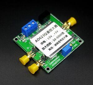 AD623 Single Supply microvolt small millivolt signal instrumentation amplifier