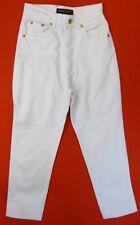 SONIA RYKIEL Pantacourt jean Taille 36 Fr - Blanc - Taille Haute