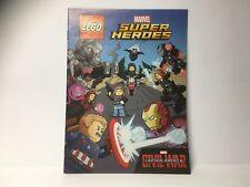 LEGO Livret BD Comics Marvel Super Heroes NEW