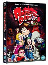 American Dad Complete Series 8 DVD All Episode Eigth Season Original UK Release
