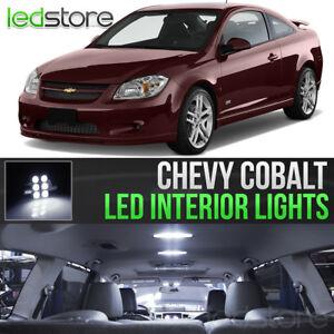 2005-2010 Chevrolet Cobalt White LED Lights Interior Kit