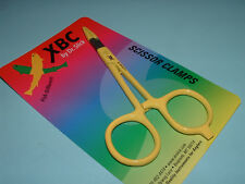 Dr Slick XBC 5 in Yellow Scissor Clamp Standard Straight Fishing Clamps SNH5YLW
