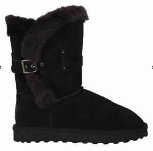 SOULCAL Bardi Snug Boots Ladies Black Size UK 6 EUR 39 US 8 *REFCRS40