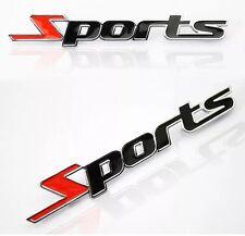 Sports NOTTE METALLIZZATO 3D auto da corsa Badge Emblema Adesivo-Classic Mini Austin Rover