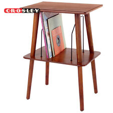 Crosley ST66-PA Manchester Entertainment Center Stand Paprika for Vinyl Records