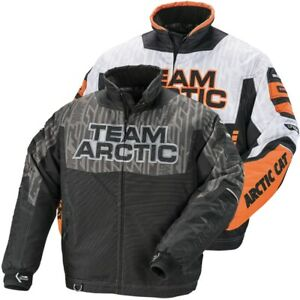 Arctic Cat Men's Team Arctic Sponsor Pro Flex Jacket - Black or Orange