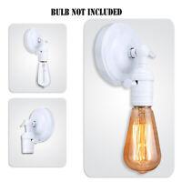 Vintage E27 Industrial Wall Lights Sconce Lamp Holder Switch Retro Edison Loft