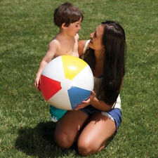 5pcs Blow Up Inflatable Beach Balls Swimming Pool Holiday Funny Game 23cm
