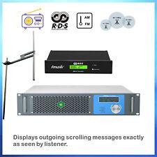 1/KW 1000W FM Transmitter1KW FM Radio Station+RDS Encoder Antenna kit