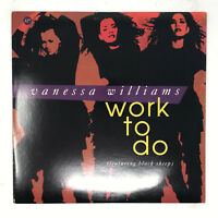 Vanessa Williams Work To Do Vinyl Record Original 1992 Black Sheep Near Mint 12""