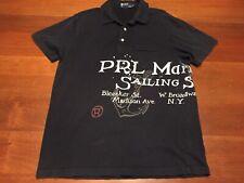 Large PRL Marine Co. Sailing Supplies Polo Shirt Ralph Lauren