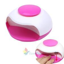 Portable Nail Art UV Gel Curing Lamp Dryer Timer Gelish Polish Manicure Kit A