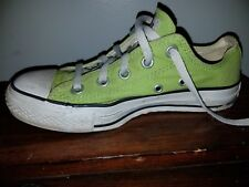 Converse All Star Canvas Shoes Men's size 4 Womens size 6 GREEN