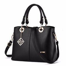 Mode Leder Damentasche Schultertasche Handtasche Shopper Tragetasche Tasche Neu