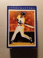1989 Score Score Masters 42 Card Set Ken Griffey Jr Bo Jackson Nolan Ryan Brett