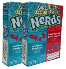 2x NESTLE SURF & TURF Tropical Punch e Rasberry Nerd 46.7 G Americano Dolci