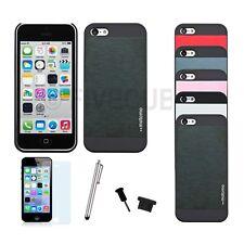 iPhone 5c Hard Case Schutz Hülle Cover Bumper Tasche Metalloptik Schutzhülle