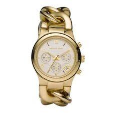 Michael Kors MK3131 Gold Twist Chain Bracelet Ladies Watch