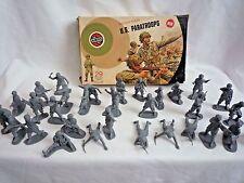 VINTAGE Airfix anni 1970 1:32 SCALA 31 Us Para-Troopers nella scatola originale