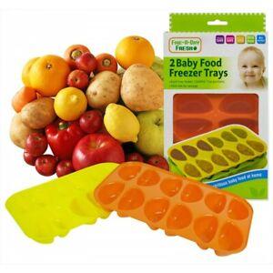 Five A Day Fresh Baby Food Feeding Supplies BPA Free Material Utensils UK SELLER