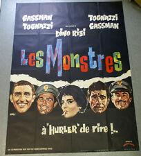 Affiche de cinéma : LES MONSTRES de Dino RISI