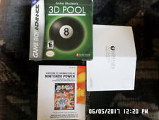 Archer Maclean's 3D Pool (Gameboy Advance) Box Only... NO GAME