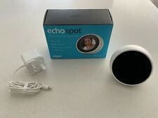 Amazon Echo Spot Smart Alarm Clock With Alexa - White