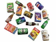 Lot 16 MIX Beer ,Soft Drink,Coca cola Can 3D FRIDGE MAGNET SOUVENIR TOURIST