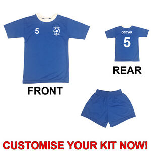 Mini Football Kit for Toddlers / Infants / Young Children Kids - Shirt & Shorts