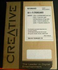 Creative Sound Blaster X-Fi PCI (SB073A) Sound Card (Factory Refurbished)