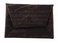 Berluti Men's Credit Card or Business Card Wallet Holder Signature Leather