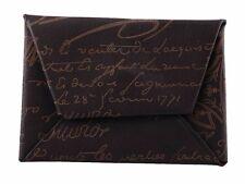 Berluti homme carte de crédit ou carte de visite portefeuille titulaire signature cuir
