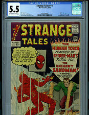 Strange Tales #115 CGC 5.5 FN 1963 Marvel  Dr Strange Sandman K22