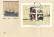 Terra Australis minisheet first day cover