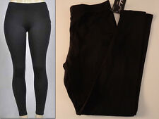 Legging Fleece Lined  Solid  Color  Size X-Large  AP-4093 NWT  Black