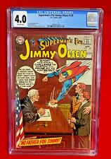 Superman's Pal Jimmy Olsen #128 CGC 4.0  DC Comics 1970  NO FATHER FOR JIMMY