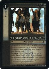 LOTR TCG Peaux (French) Hides 4R19 The Two Towers Lord of the Rings NM  FOIL