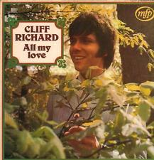 Cliff Richard(Vinyl LP)All My Love-MFP-MFP 1420-UK-1965-VG/Ex