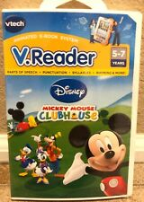 VTech V-Reader Disney Mickey Mouse Clubhouse Animated E-Book 5-7 Years NEW