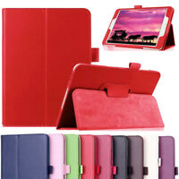PU Leather Folio Case Stand Cover For Samsung Galaxy Tab 4 7.0 SM-T230NU Tablet