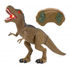 Liberty Imports Dino Planet Remote Control RC Walking Dinosaur Toy with Shaking
