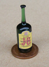 1:12 Real Glass Bottle Of J&B Whisky Dolls House Miniature Pub - Bar Accessory