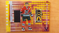 2016 ITG Final vault MIROSLAV SATAN 2001-02 BAP Game used jersey stick 1/1