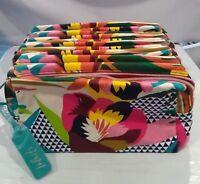 WHOLESALE LOT OF 30 x ESTEE LAUDER FLOWER COSMETIC MAKEUP BAG