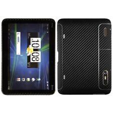 Skinomi Carbon Fiber Black Tablet Skin+Screen Protector Cover for HTC Jetstream