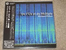 RICHARD PINHAS - de l'un et du plusieurs - MINI LP CD + OBI