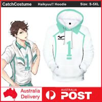 Haikyuu!! Aoba Johsai High School NO.1 Oikawa Tooru Hoodie Sweatshirt Pullovers