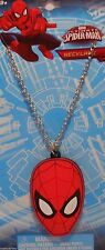 "Necklace Marvel SPIDER-MAN 16"" Chain Jewelry S1"