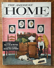 The American Home 1957 Kenneth Kassler George Hay Design a Floor Recipes Beans